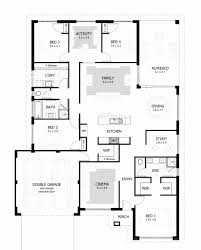 4 bedroom house plans south australia lovely 4 bedroom bungalow house plans in nigeria