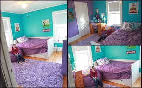 Girls Bedroom Ideas Purple And Blue