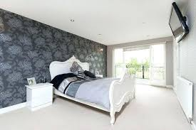 modern bedroom feature wall ideas feature wallpaper bedroom ideas with wall