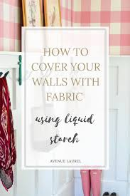 abric walls can be the perfect temporary wallpaper they are such a fun and easy