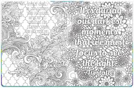 Small Picture Coloring Pages With Inspirational Quotes Piccadilly