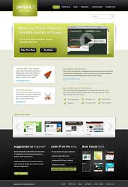 Free Psd Website Templates Mesmerizing Free Professional PSD Web Templates