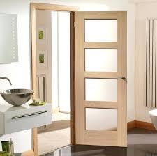 white glass panel interior doors for bathroom nz