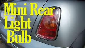 2011 Mini Cooper Brake Light Bulb Mini Rear Light Bulb Change