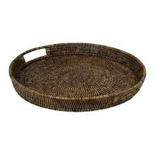 round wicker tray and plantation rattan tray round small wicker tray baskets whole round wicker