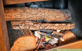 How To Light A Fire In A Fireplace With Pictures  WikiHowHow To Start A Fireplace