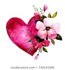 Pictures Of Hearts And Flowers Royalty Free Hearts And Flowers Stock Images Photos