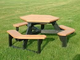 fancy lifetime bench table picnic table plans lifetime round picnic table with swing out benches folding