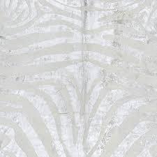 metallic silver zebra cowhide rug