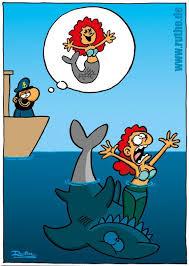 Meerjungfrau Fishing Cartoons Ruthe Lustig Und Lustige Bilder