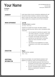 Super Resume Inspiration The 28 Best Resume Templates Ielts Pinterest Template And Creative