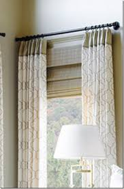 How to Dress Windows | Window Close to Wall with Curtains