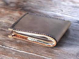 exquisite leather bifold wallet for men bifold