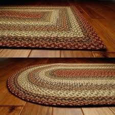 ideas braided oval rugs and pumpkin pie oval cotton braided rug primitive star quilt 2
