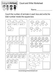 Kids. kindergarten counting worksheets: This Is Fun Animal Counting ...