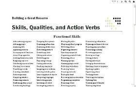 Strong Verbs For Resume Cool Best Resume Verbs Colbroco