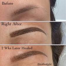 photo of sidney le sacramento ca united states my permanent eyebrows by