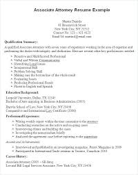 Experienced Attorney Cover Letter Resume Lateral Attorney Resume New