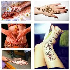 Mehendi хна краска для тела индийские женщины мода временные татуировки