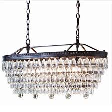kitchen mesmerizing crystal and bronze chandelier 26 725916105433 crystal and bronze chandelier