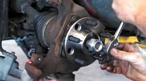 Hub assembly wheel bearing replacement Chevrolet Cavalier 1985 ...