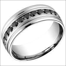 Black Diamond Wedding Bands For Men Wedding Rings For Women Ring