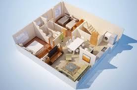 architecture blueprints 3d. 3D Floor Plans Of Apartment Architecture Blueprints 3d O