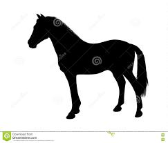 standing horse silhouette. Unique Horse Silhouette Of A Standing Horse In Standing Horse E