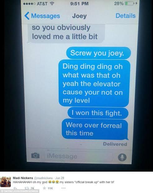 break up text messages for boyfriend