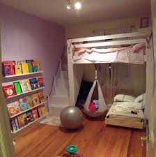 Diy Toddler Loft Bed Kids Space Loft Bed Bunk Bed Build With Hanging Toddler Bed And