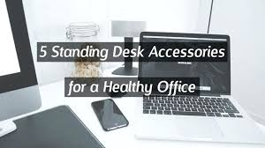 picturesque standing desk accessories photos 5 for a healthy office header must have