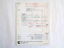 cummins laminated isc isl cm850 electronic control module wiring cummins isbe4 cm850 electronic control module wiring diagram