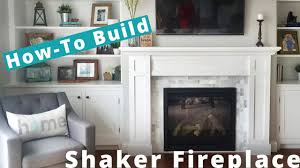 woodworking diy fireplace