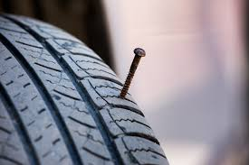nail in tire