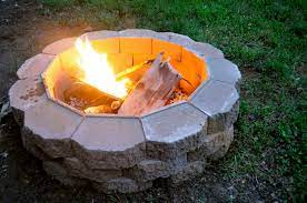 how to build a fire pit that s easy and