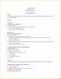 Paraeducator Resume Example Paraeducator Resume Sample New 24 Elegant Education Resume Example 14