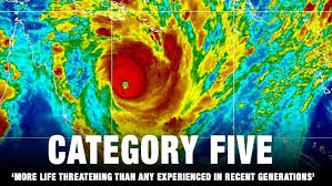 Image result for category 5 hurricane 2017