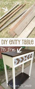 Pallet Entry Table Best 25 Diy Entry Shelf Ideas On Pinterest Shelves For Shoes