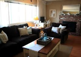 living room with black furniture. Living Room Wall Colors For Unique Black Furniture With M