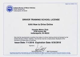 driver training license