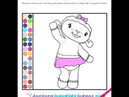 Disney Junior Games Doc Mcstuffins Coloring Pages Youtube