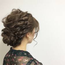 2019結婚式髪型カタログ晴れの日にふさわしいヘアアレンジ Arine