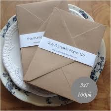 a7 envelopes size wedding invitation envelopes 5 x 7 5 x 7 kraft envelopes a7 envelopes