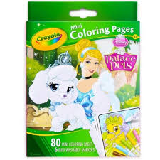 Coloring pages coloring pages for kids. Crayola Mini Coloring Pages Disney Princess Palace Pets 1 Ea Buy Online In Antigua And Barbuda At Antigua Desertcart Com Productid 61042985