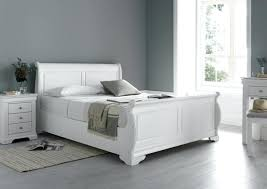 polar white new french style bed frame wooden frames king size beds