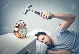 Image result for Angry people looking at alarm clock