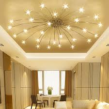 lighting bedroom ceiling. Modern Minimalist Led Living Room Ceiling Lamps Bedroom Lights  Creative Starry Sky Restaurant Fixtures Ceiling Lighting U