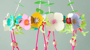 crafts with paper crafts paper flower chandelier tissue paper crafts easy