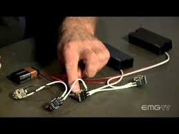 emg pickups btc system electric guitar pickups bass guitar more videos for emg pickups only the btc system