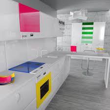 colorful kitchen design. Colorful Kitchen Design Ideas 2 A